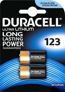 Bateria CR123 DURACELL  DL123A