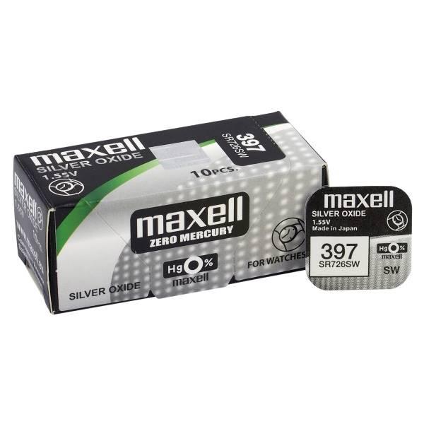 Bateria srebrowa 397 maxell ( SR726SW, 396 )