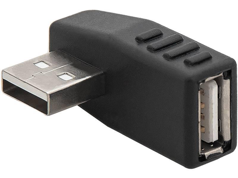 Adapter USB wtyk USB - gniazdo USB kątowy