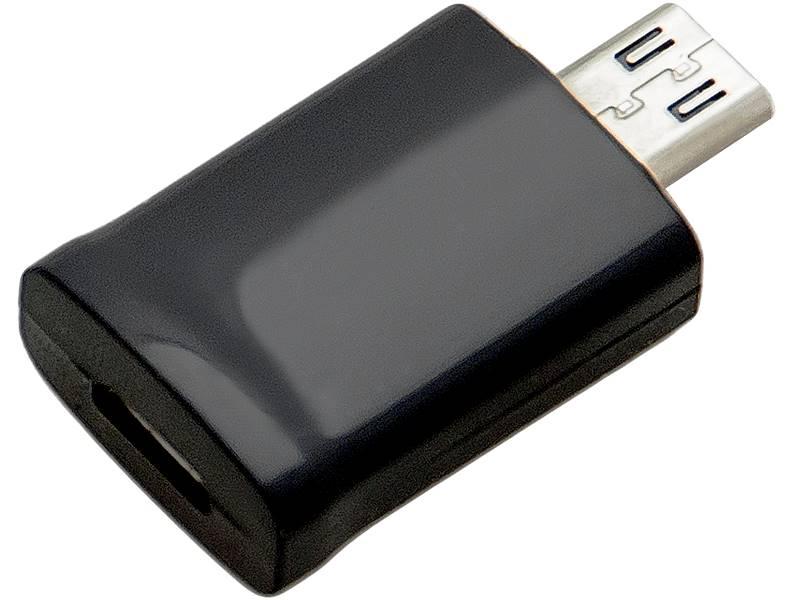 Adapter  micro USB 5p gniazdo - micro USB 11p wtyk