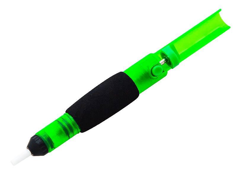 Odsysacz lutowniczy plastikowy zielony