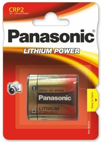 Bateria CRP2 Panasonic 6V