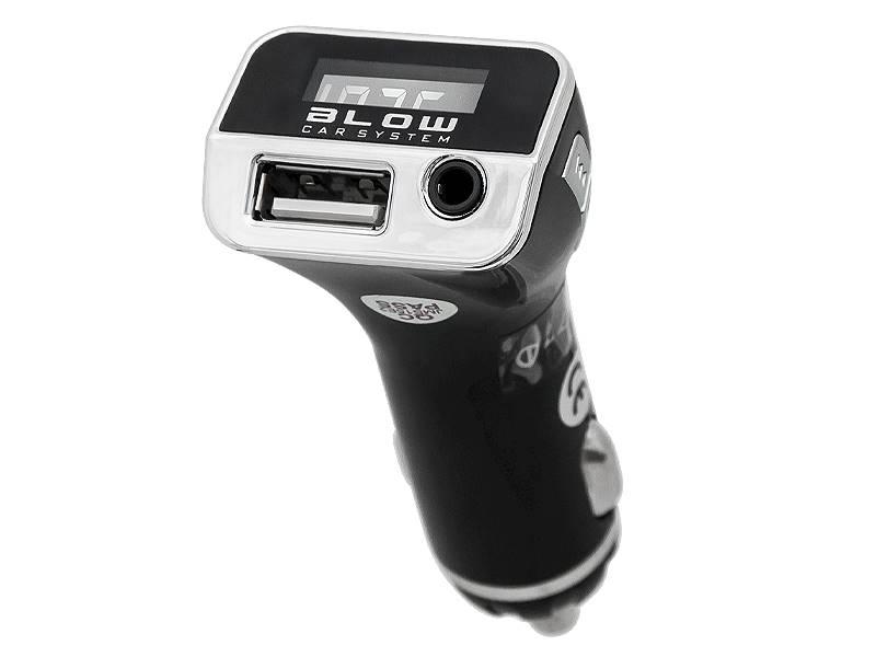 Transmiter FM BLOW USB + ładowarka 2,1A