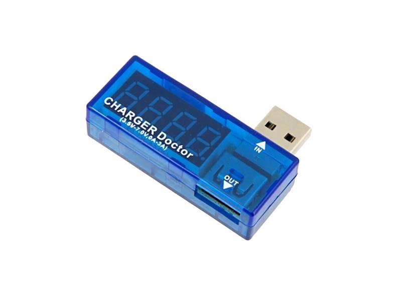 Miernik woltomierz USB