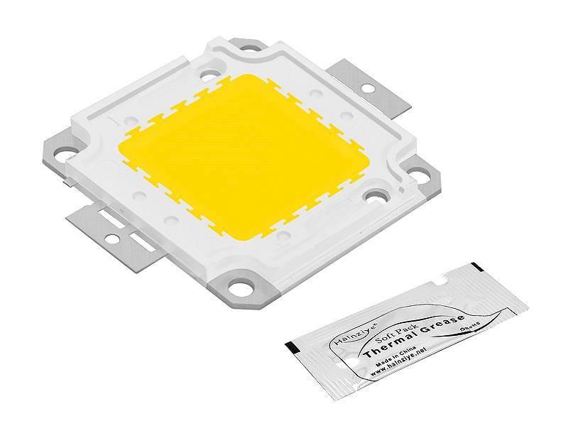 Dioda LED COB 30W biała zimna + pasta
