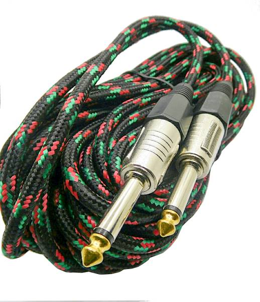 Kabel Jack 6,3 mono wtyk -  Jack 6,3 mono MK40 10m