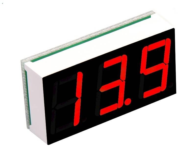 Miernik temperatury 12V -55 ~ 125 C czerwony