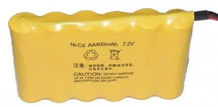 Akumulator 400mAh 7,2V NiCd