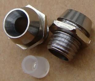 Oprawka LED 5mm metalowa wklęsła