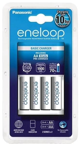 Ładowarka Eneloop BQ-CC51 z 4 akumulatorkami