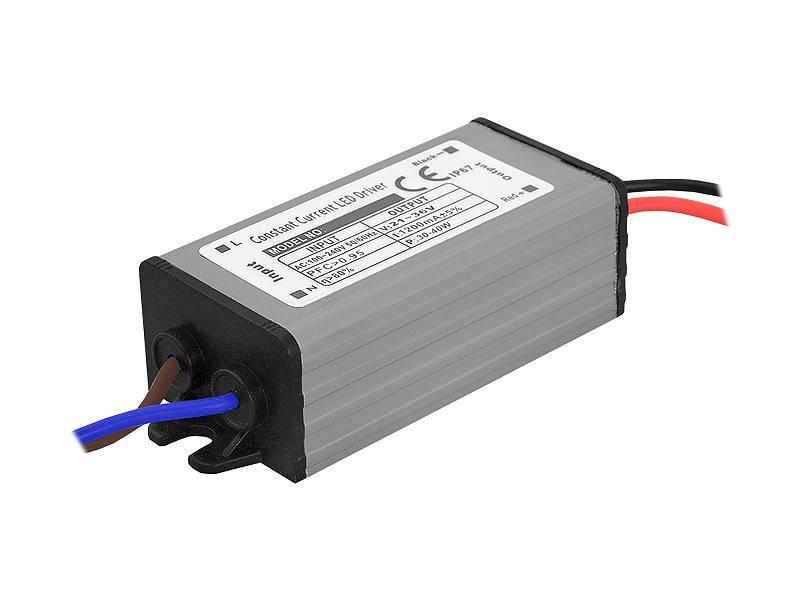 Zasilacz do naświetlaczy LED 30-40W 1200mA 21-36V