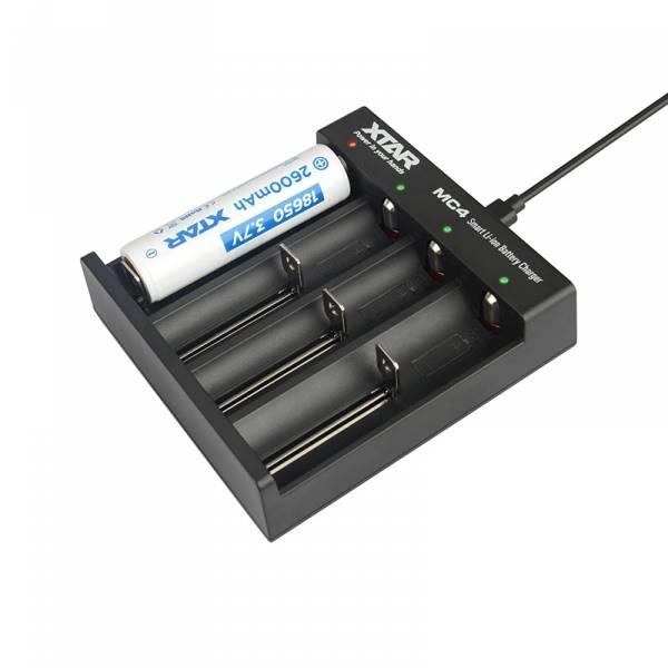 Ładowarka do akumulatorów Li-ion 18650 Xtar MC4