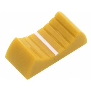 Gałka nakładka żółta S-1