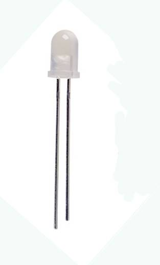 Dioda LED 5mm biała zimna , matowa