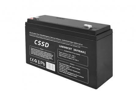Akumulator żelowy 6V 10Ah