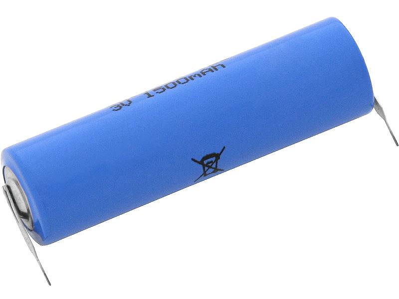 Bateria litowa 3V CR14505 1500mAh blaszki