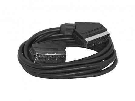 Kabel EURO SCART wtyk - SCART wtyk 21PIN 1.5m