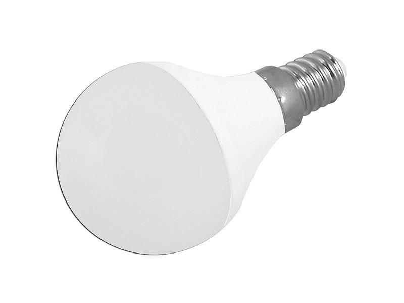 Żarówka LED LTC E14 SMD 3W 230V 250lm b.ciepłe