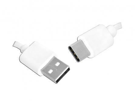 Kabel HQ USB - USB Type - C 1,5m biały
