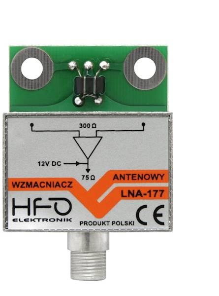 Wzmacniacz antenowy LNA-177 30dB HFO ORYGINAŁ