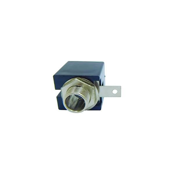 Gniazdo Jack 6,3mm stereo do obudowy plastikowe