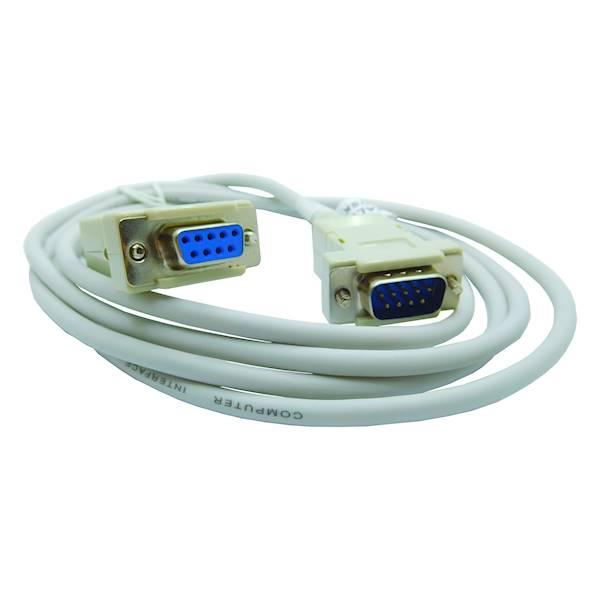 Kabel przedłużacz RS232  wtyk 9 - gniazdo 9 1,8m