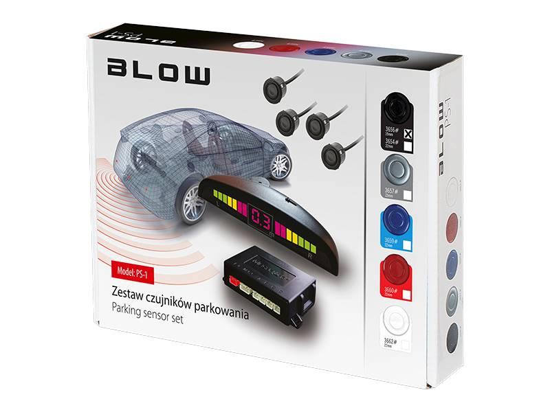 Czujnik cofania BLOW 19mm PS-1 czarne