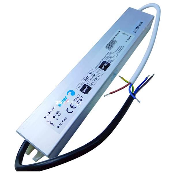 Zasilacz hermetyczny LED IP67 45W 12V 3,75A