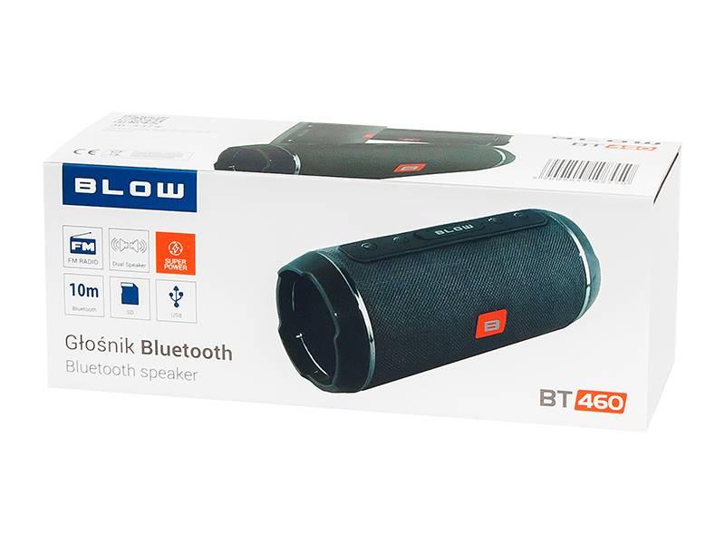 Głośnik bluetooth BT460 czarny BLOW