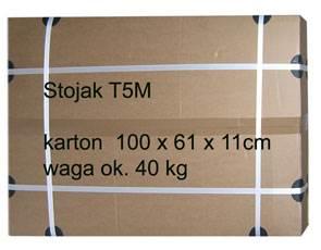 Stojak multimedialny do TV - T5M 200cm ,dzielony.