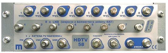 Rozdzielnia multimedialna RM6415-1