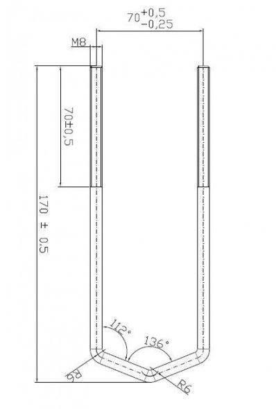 Obejma łącząca maszty CR-OPM-38/60-Z