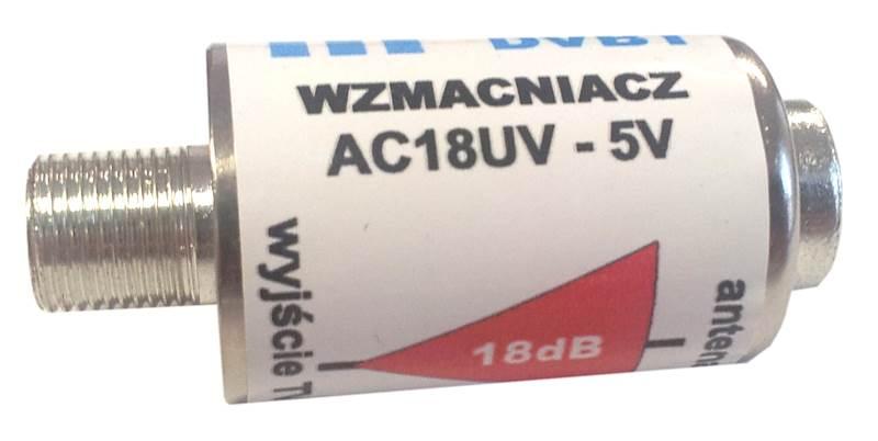 Wzmacniacz liniowy AC18UV - 5V