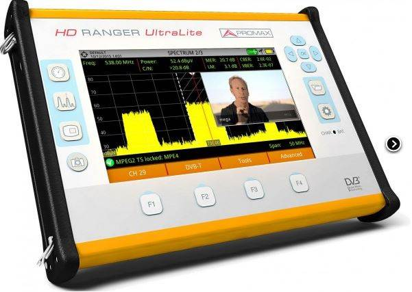 HD RANGER UTRALITE PROMAX TV ANALYSER