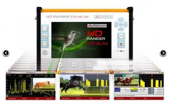HD RANGER UTRALITE PROMAX TV ANALYSER
