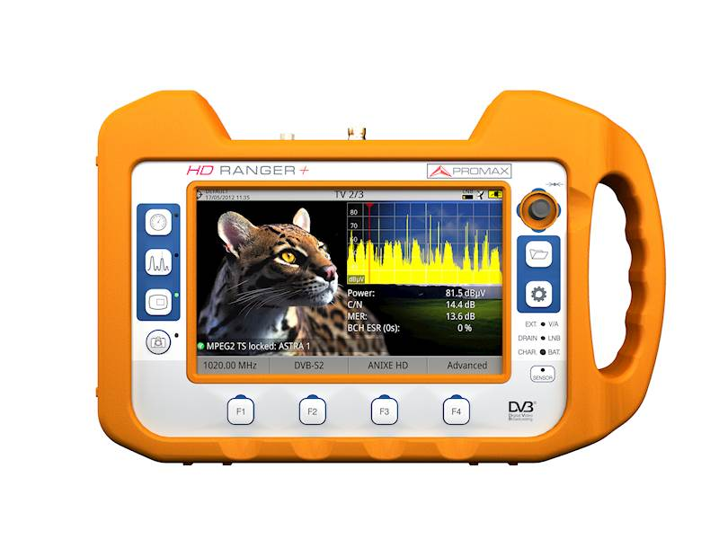 HD Ranger + TV/SAT Analyser