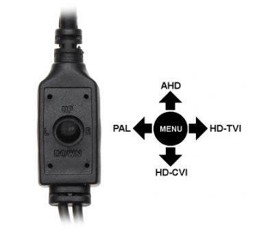 Kamera AHD, HD-CVI,PAL APTI-H52C2-36W 5Mpx 3.6mm