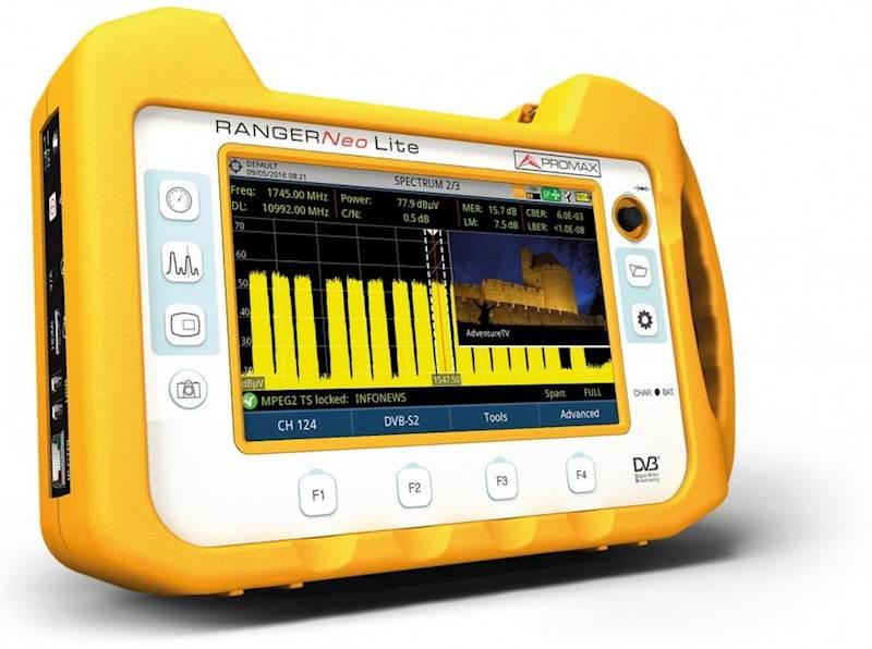 Ranger NEO LITE-  wielofunkcyjny analizator TV-SAT