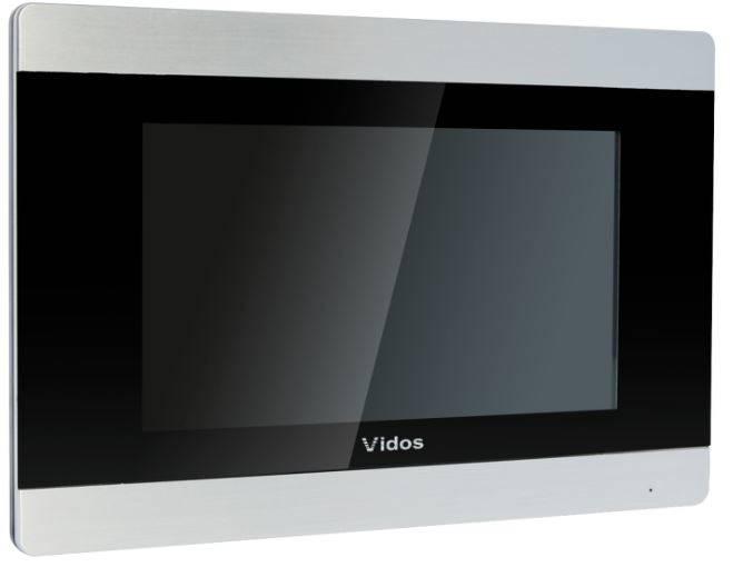 Monitor z pamięcią, interkom, brama,dotykowy M903S