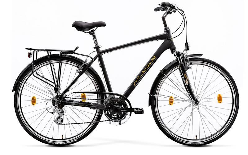 Rower M-BIKE T_BIKE 9.1 51cm BLACK/YELLOW/GREY