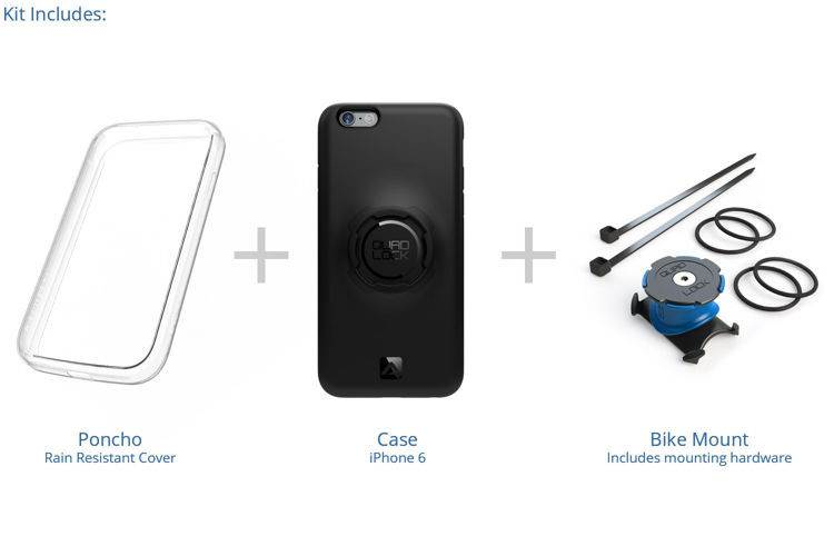 Zestaw QuadLock - iPhone 6/6s