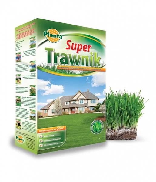 Mieszanka traw super trawnik Planta 0,9kg