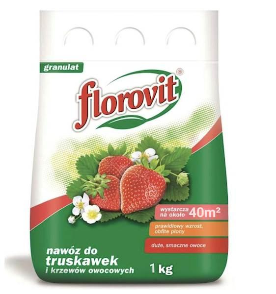 Nawóz do truskawek i innych krzewów owocowych Florovit 1kg