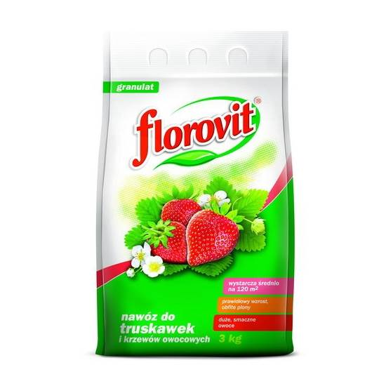 FLOROVIT DO TRUSKAWEK,  POZIOM 3KG