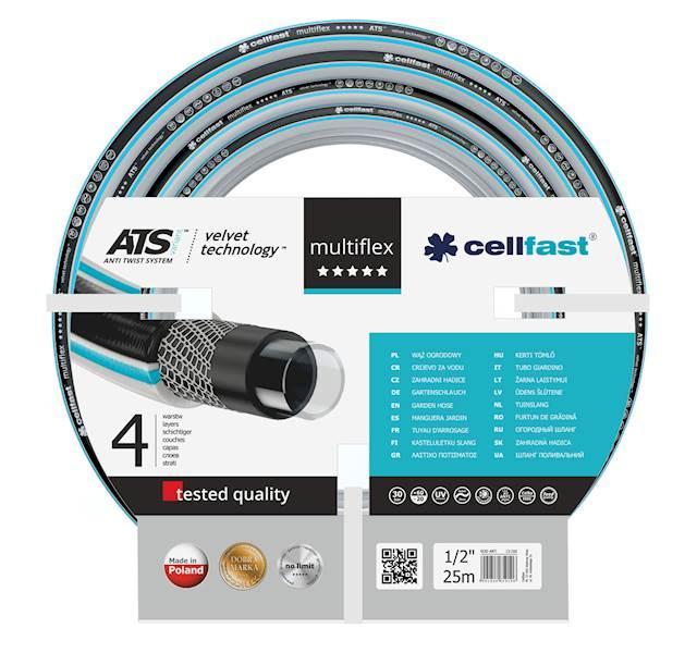 Wąż CellFast 1/2 25m Ats Multiflex 13-200
