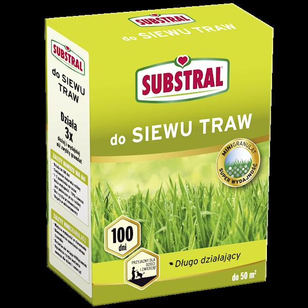 Nawóz do siewu traw Substral 1kg (działa 100 dni)