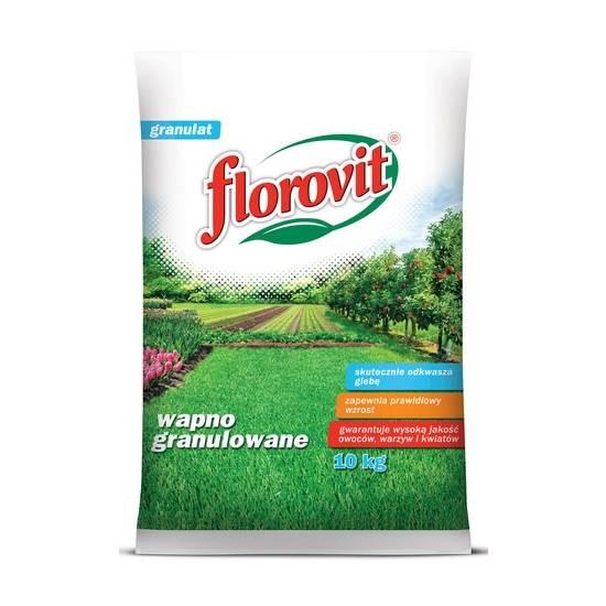 FLOROVIT WAPNO NAWOZOWE  GRANULOWANE 10 KG