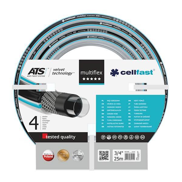 Wąż CellFast 3/4 25m Ats Multiflex 13-220