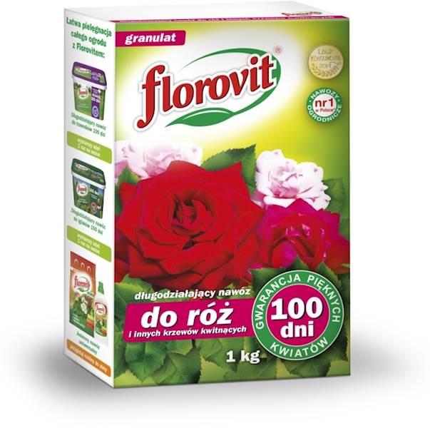 FLOROVIT DO RÓŻ 100 DNI 1KG