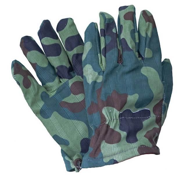 Rękawice drelichowe `moro